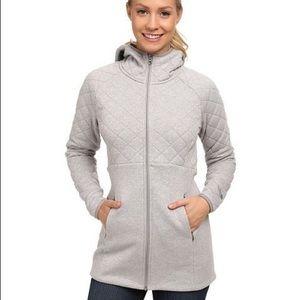 The North Face Gray Hooded Caroluna Jacket Sz XL